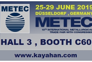 June 25-29, 2019. We are at METEC in Germany.